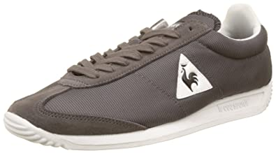 Le Coq Sportif Quartz Nylon, Baskets Basses Mixte Adulte, (Dark Gull Gray), 42 EU