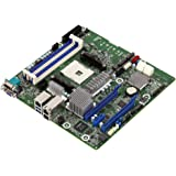 ASRock X470D4U2-2T AM4 X470 Micro ATX Motherboard, Ryzen Series CPU, Dual 10G LAN, IPMI