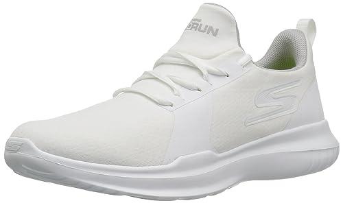 8605fd4892b5b Skechers Go Run Mojo Hombre US 10.5 Blanco Zapato para Correr  Amazon.es   Zapatos y complementos
