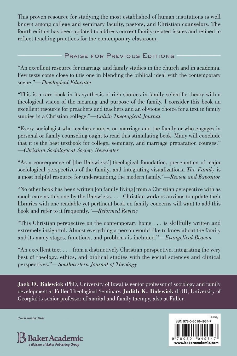 The family a christian perspective on the contemporary home jack o the family a christian perspective on the contemporary home jack o balswick judith k balswick 9780801049347 amazon books fandeluxe Choice Image