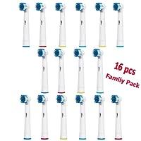 SOFTMATE - 16 Cabezales de recambio compatibles con cepillo de dientes eléctrico Oral-B