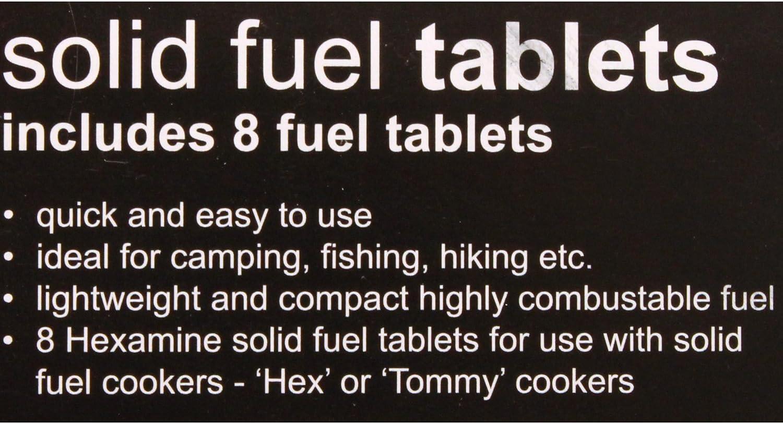 HIGHLANDER Hexamina combustible seco/combustible sólido ...