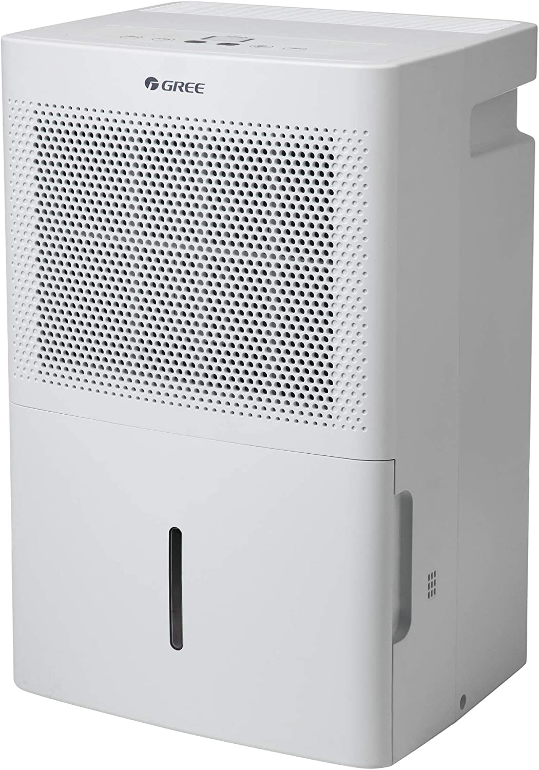 Gree Dehumidifier 35 Pint for up to 3000 Sq.ft, Energy Star Dehumidifier for Bathroom, Basement, Bedroom with Intelligent Humidity Control, LED Control panel, Quiet Design, Continuous Drainage