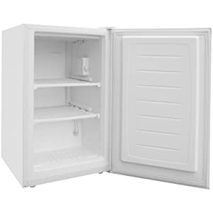 Magic Chef 3-Cu. Ft. Upright Freezer in White
