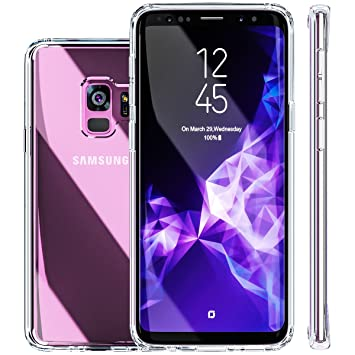 reputable site c4b14 42ed0 Galaxy S9 Case, Galaxy S9 Case, [Fusion] [Clear] [Silicone Case] [Slim]  [Phone Charm] [Gel Case] [Transparent] [Shock Absorption] [Compatible With  ...