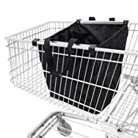 achilles Easy-Shopper Alu, Faltbare Einkaufswagentasche, Einkaufstasche passend für alle gängigen Einkaufswagen, 54x35x39 cm