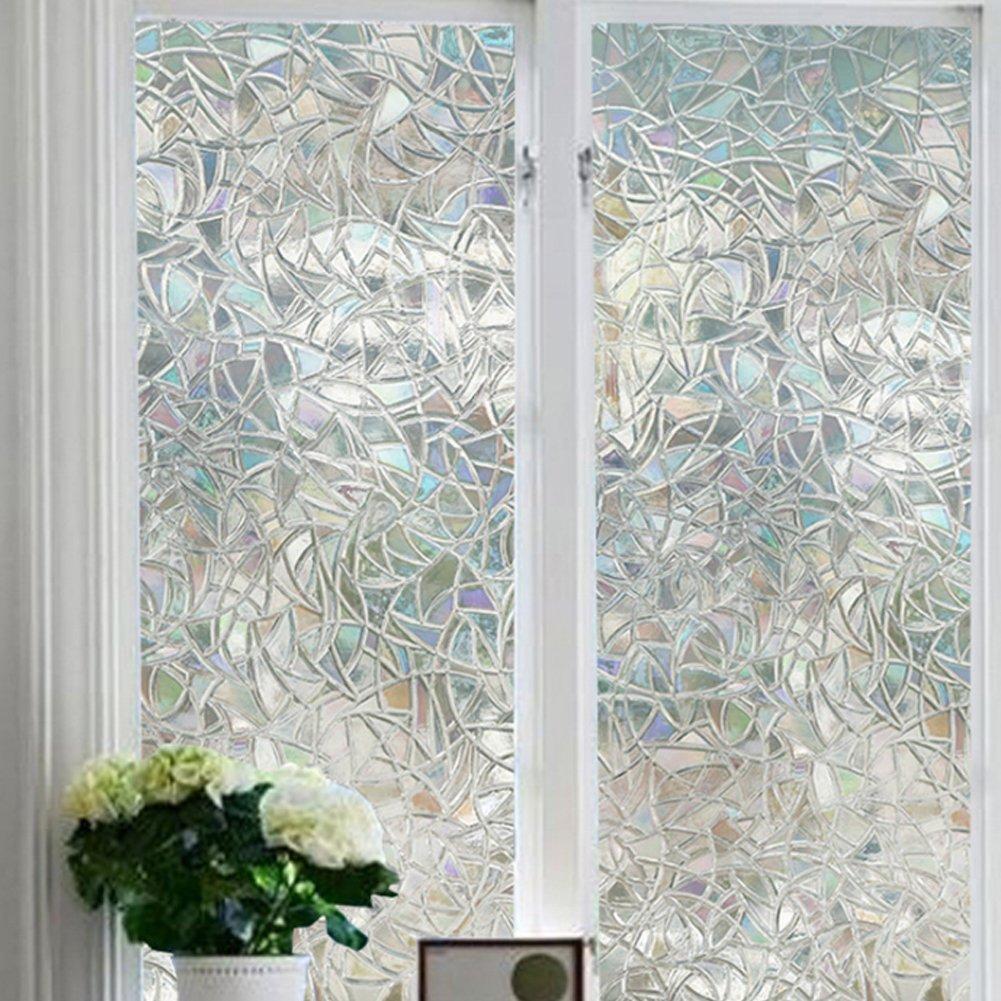 Enko 3D Statische Fensterfolie Dekorfolie Sichtschutzfolie