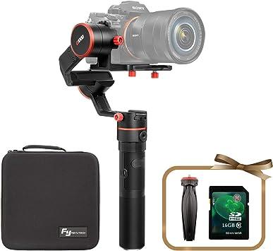 FFeiyuTech A1000 - Gimbal para cámaras Réflex hasta 1000 gramos, 3 ...