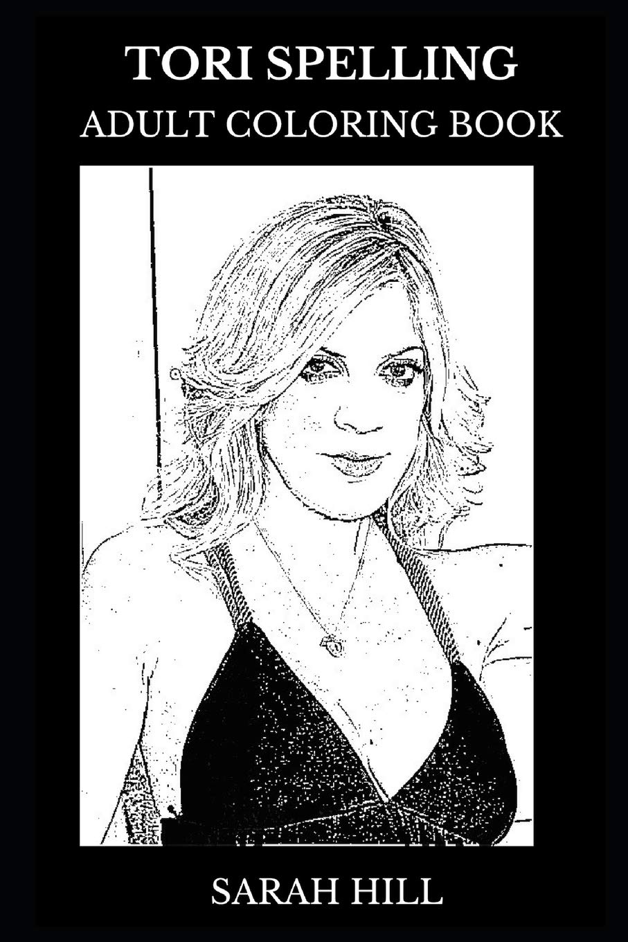 Tori Spelling Adult Coloring Book: Donna from Beverly Hills ...