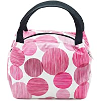 Fatmug Thermal Insulated Lunch Bag for Office - Cute Small Picnic Handbag for Women and Girls