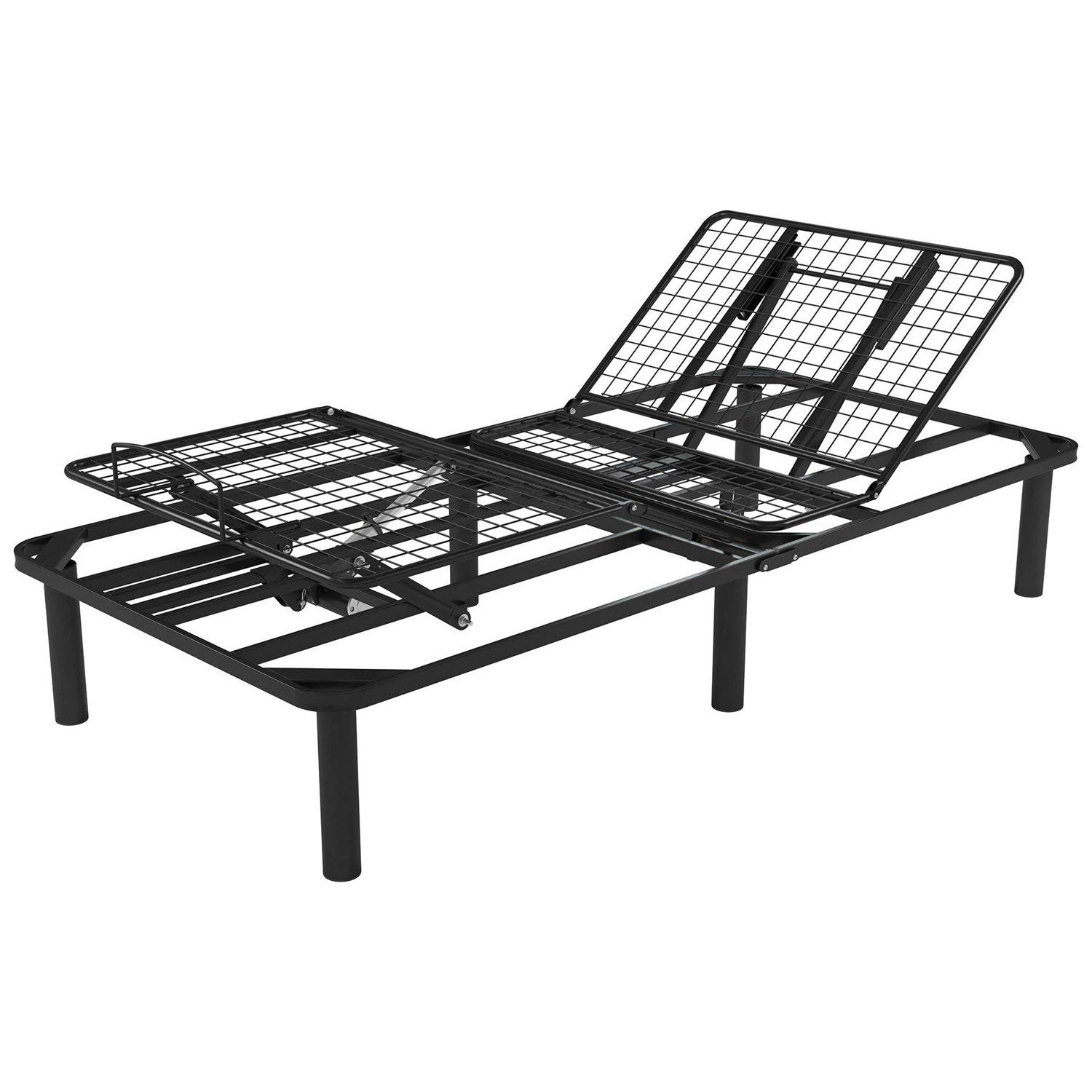 StarSun Depot Twin XL Electric Adjustable Bed Frame Base with Remote