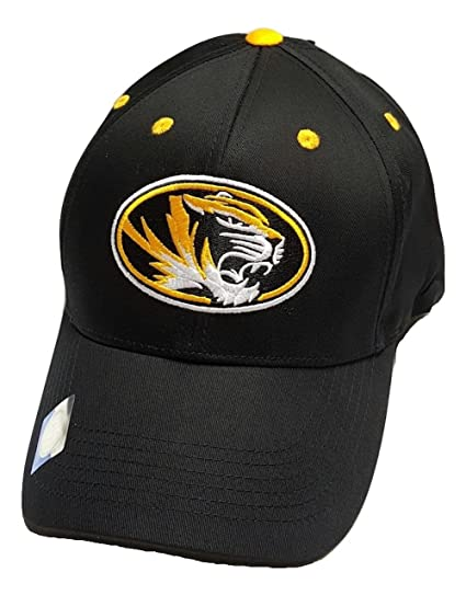 cheap for discount 43176 719a2 Image Unavailable. Image not available for. Color  Missouri Tigers  Adjustable Logo Cap
