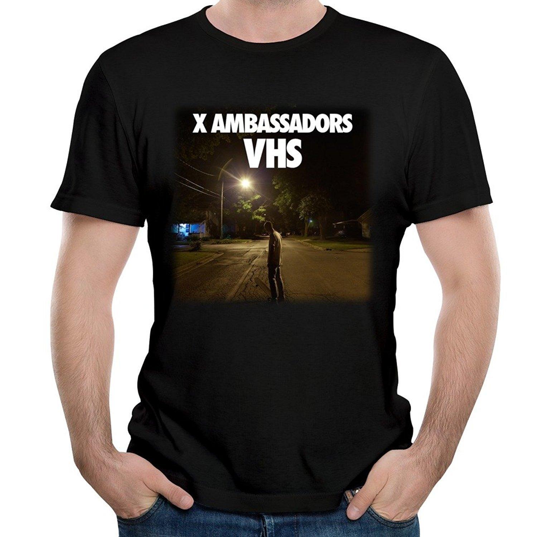 Men's Design A Tour Poster For X Ambassadors Short Sleeve T-shirts