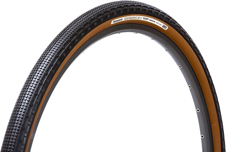 2-PACK Panaracer Gravel King SK 700x50 Black//Brown Bike Bicycle Tire GravelKing