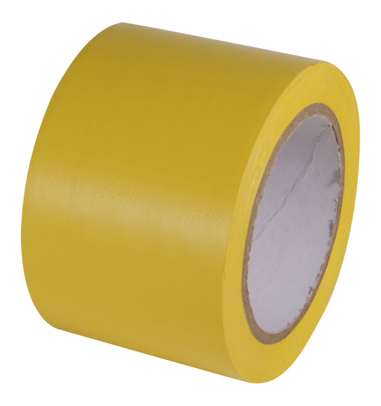 INCOM Manufacturing: Vinyl Aisle Marking Conformable Tape, 3'' x 108', Safety Yellow- Ideal for Walls, Floors, Equipment