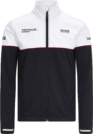 Porsche Motorsport Mens Team Black Polo w//Motorsport Kit