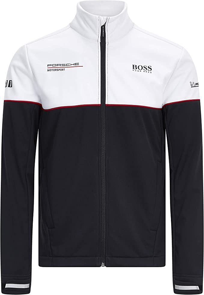 Porsche Motorsport Team Softshell Jacke Mit Motorsport Kit Bekleidung