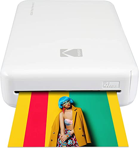 Kodak Mini 2 HD Wireless Portable Mobile Instant Photo Printer, Print Social Media Photos, Premium Quality Full Color Prints – Compatible w/iOS & ...
