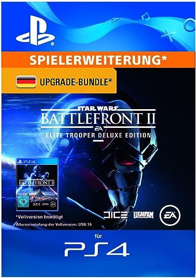 Star Wars Battlefront II - Deluxe Upgrade DLC | PS4 Download Code - deutsches Konto