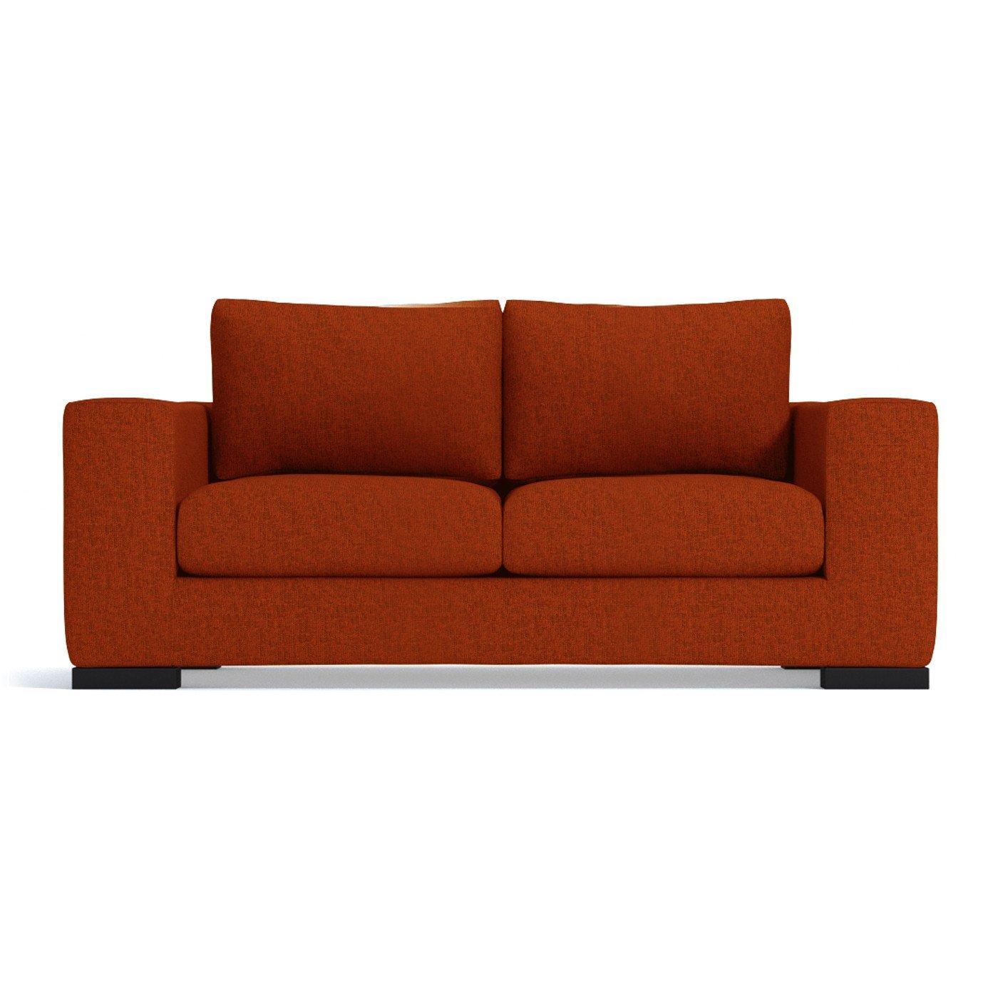 Amazon.com: Hillandale Apartment Size Sofa, Pumpkin, 66