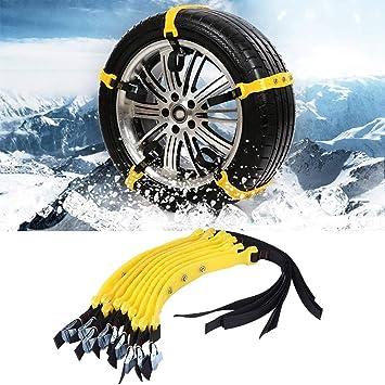 10 Stücke Auto Anti Rutsch Schneeketten 185 225mm Reifen Kette Winter Sicherheit Reifenketten Für Wagen Lkw Suv Auto