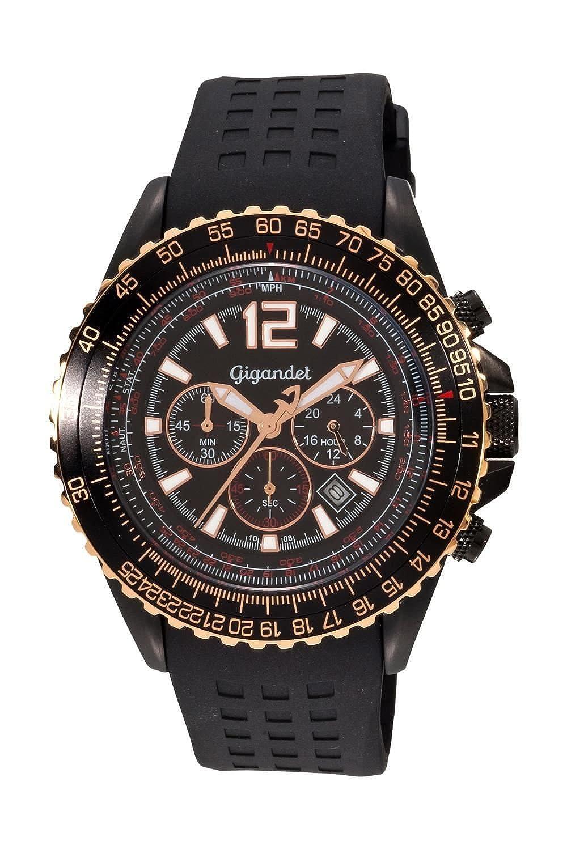 Gigandet SUPERSONIC Armbanduhr Chronograph Edelstahl G1-004