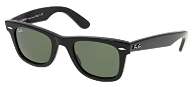 rb2140 black  Amazon.com: Ray Ban Original Wayfarer Rb 2140 901 54mm Black G ...
