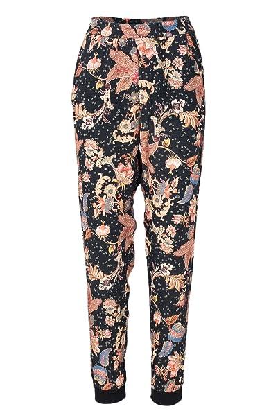 Desigual Pantaloni Donna Pant ATENAS 18WWPW13 m Nero: Amazon