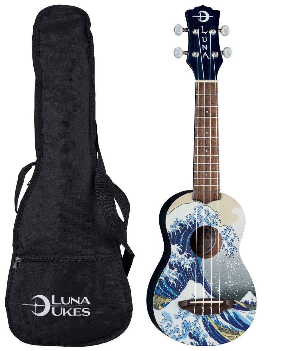 Luna Guitars, 4-String Ukulele (UKE GW SOPRANO) by Luna Guitars
