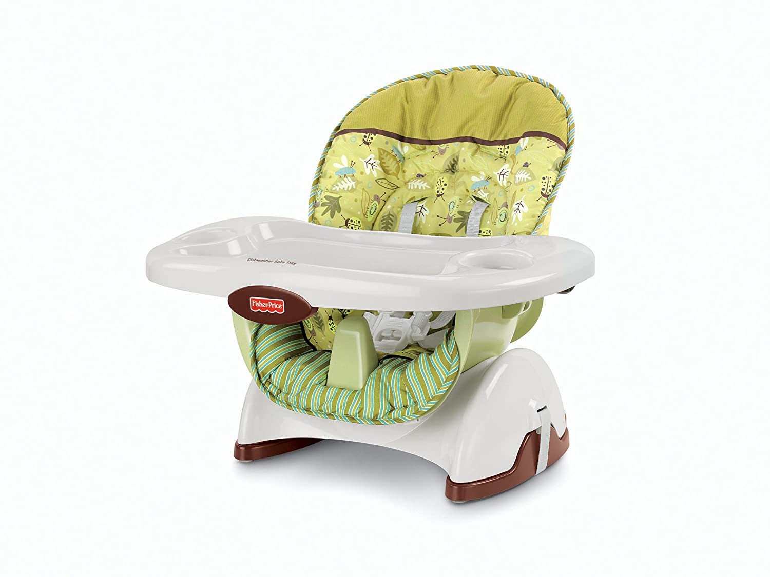 Delicieux Amazon.com : Fisher Price SpaceSaver High Chair, Scatterbug : Childrens  Highchairs : Baby