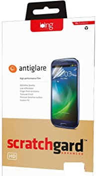 Scratchgard HD Anti Glare Screen Protector for Samsung Galaxy Note 3 N9000 Mobile Accessories