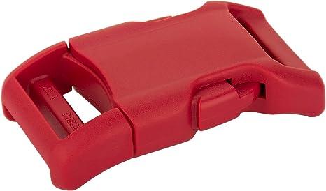 25-3//8 Inch Side Release Flat Plastic Buckle YKK