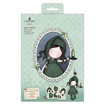 Amazon.com: Paper Doll Kit - Santoro - Nightlight