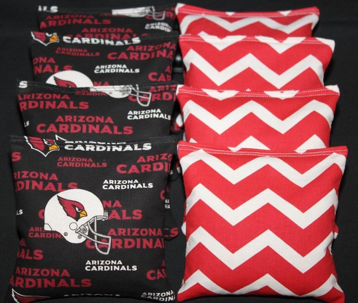Arizona Cardinals Red Cardinals Arizona Chevron Cornhole Red Beanバッグ8 ACA Regulation Corn穴バッグ B01MRAVB6L, WAプラス:f1793628 --- itxassou.fr