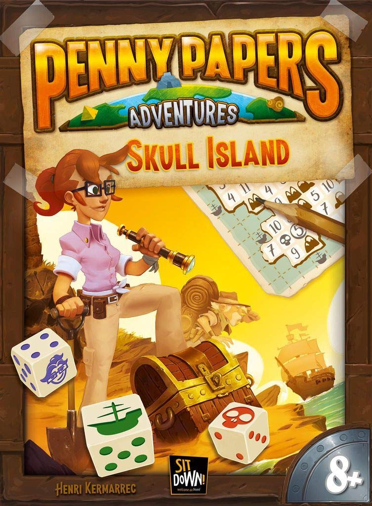Sitdown Penny Papers Adventures: Skull Island - Deutsch English ...
