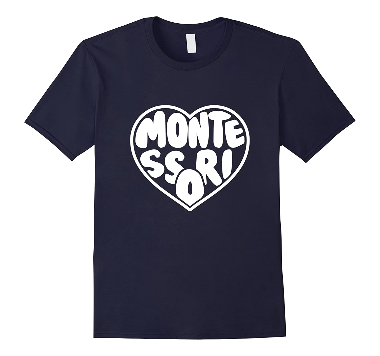Cool Womens Montessori Love Tshirt For Moms  Teacher-TJ