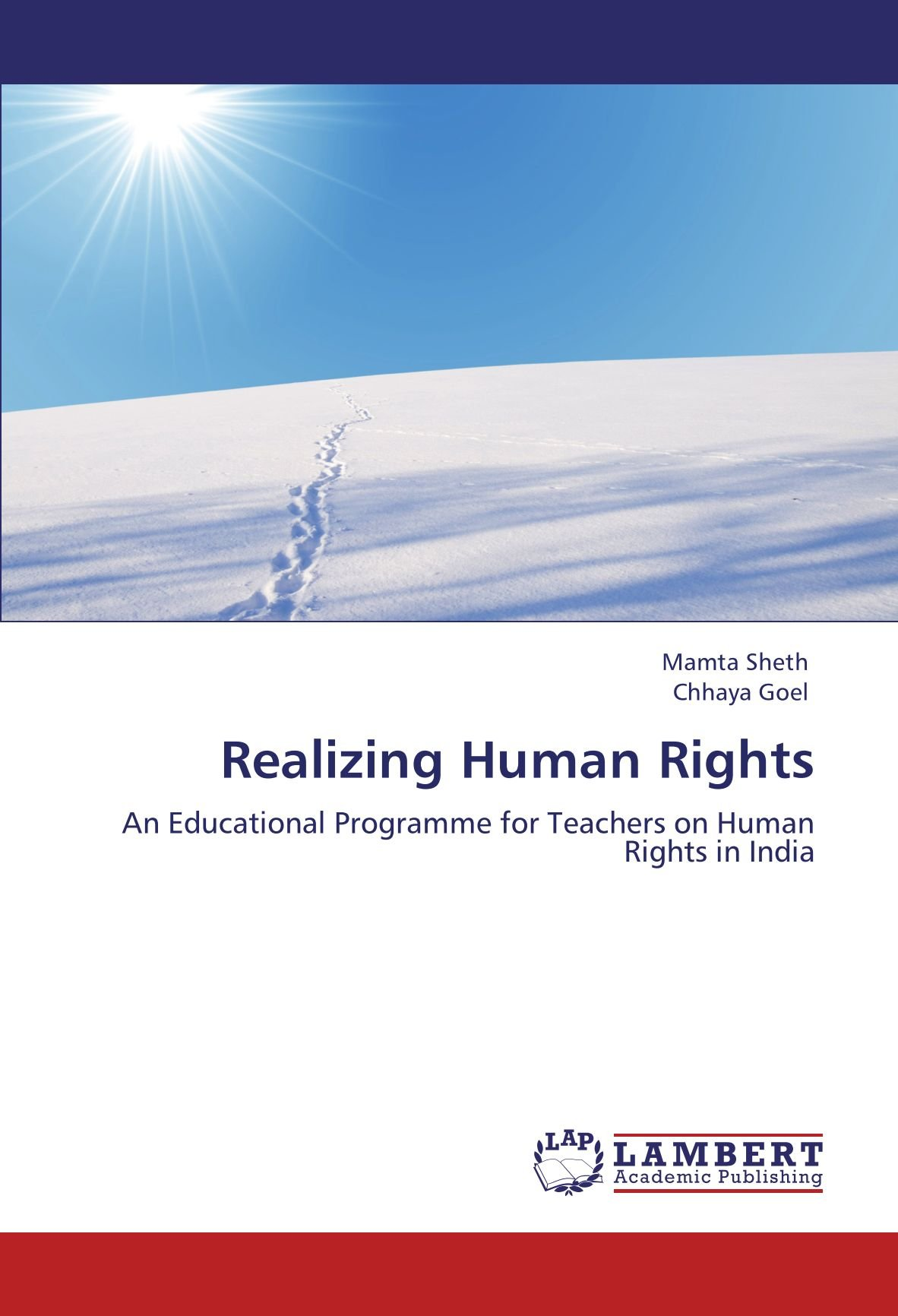 Download Realizing Human Rights: An Educational Programme for Teachers on Human Rights in India ebook
