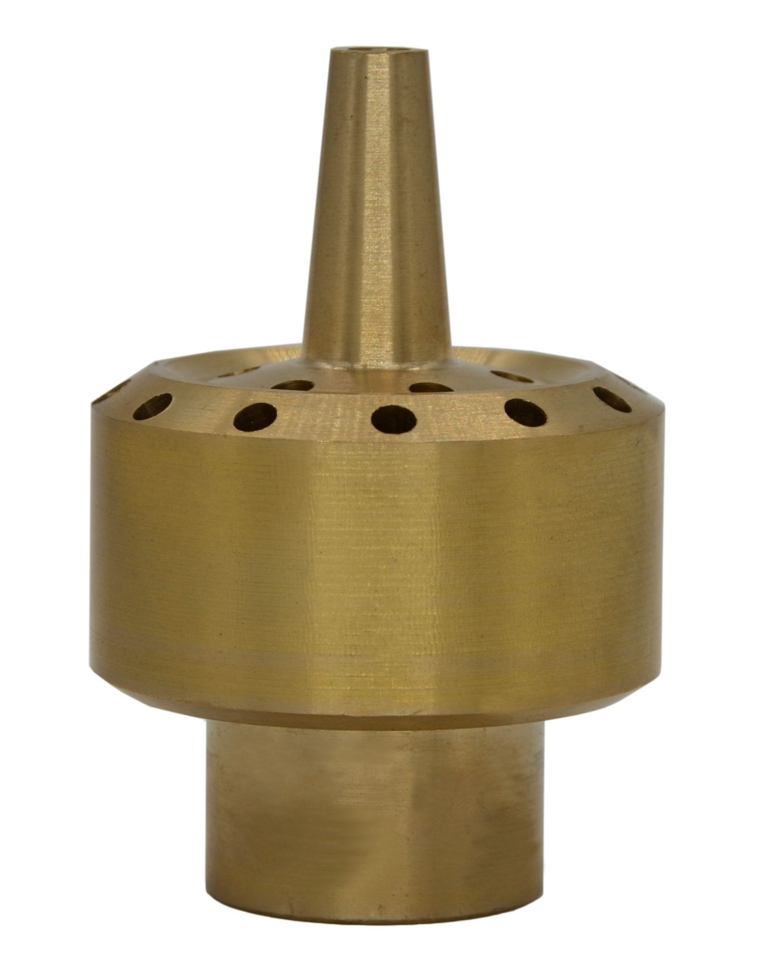 Thaoya Brass Column Garden Square Fireworks Pool Pond Fountain Nozzle Sprinkler Spray Head SSH327 (DN40/G:1.5')