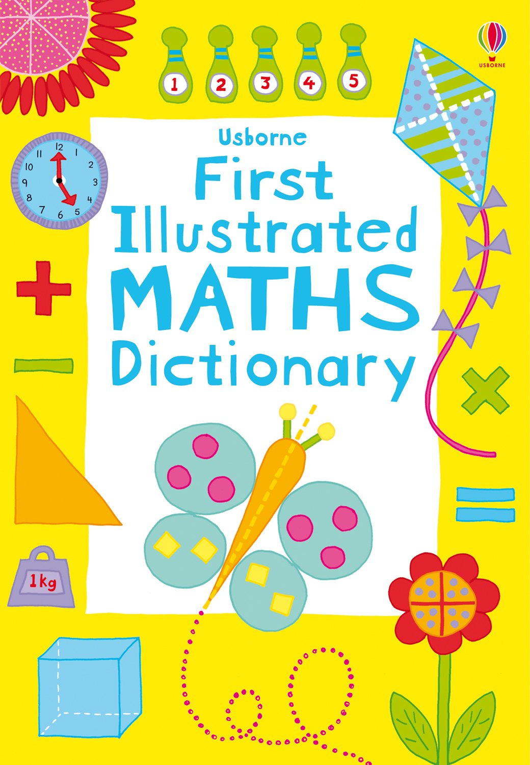 worksheet First Math first illustrated maths dictionary usborne dictionaries kirsteen rogers 9781409556633 amazon com books