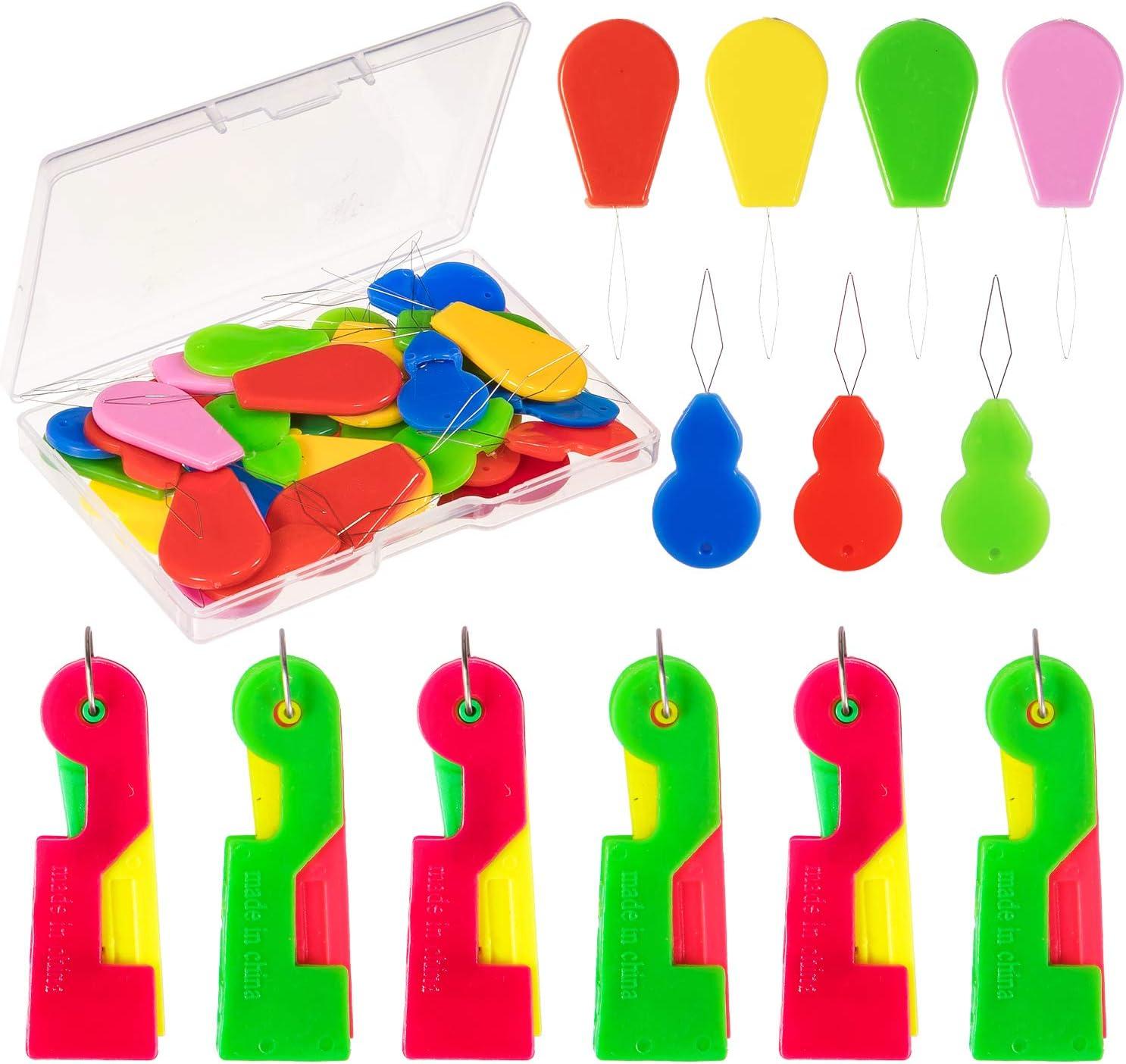 Whaline - Enhebrador automático de agujas para máquina de coser (50 unidades)