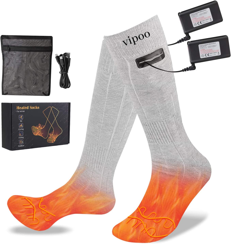 Vipoo Rechargeable Heated Socks