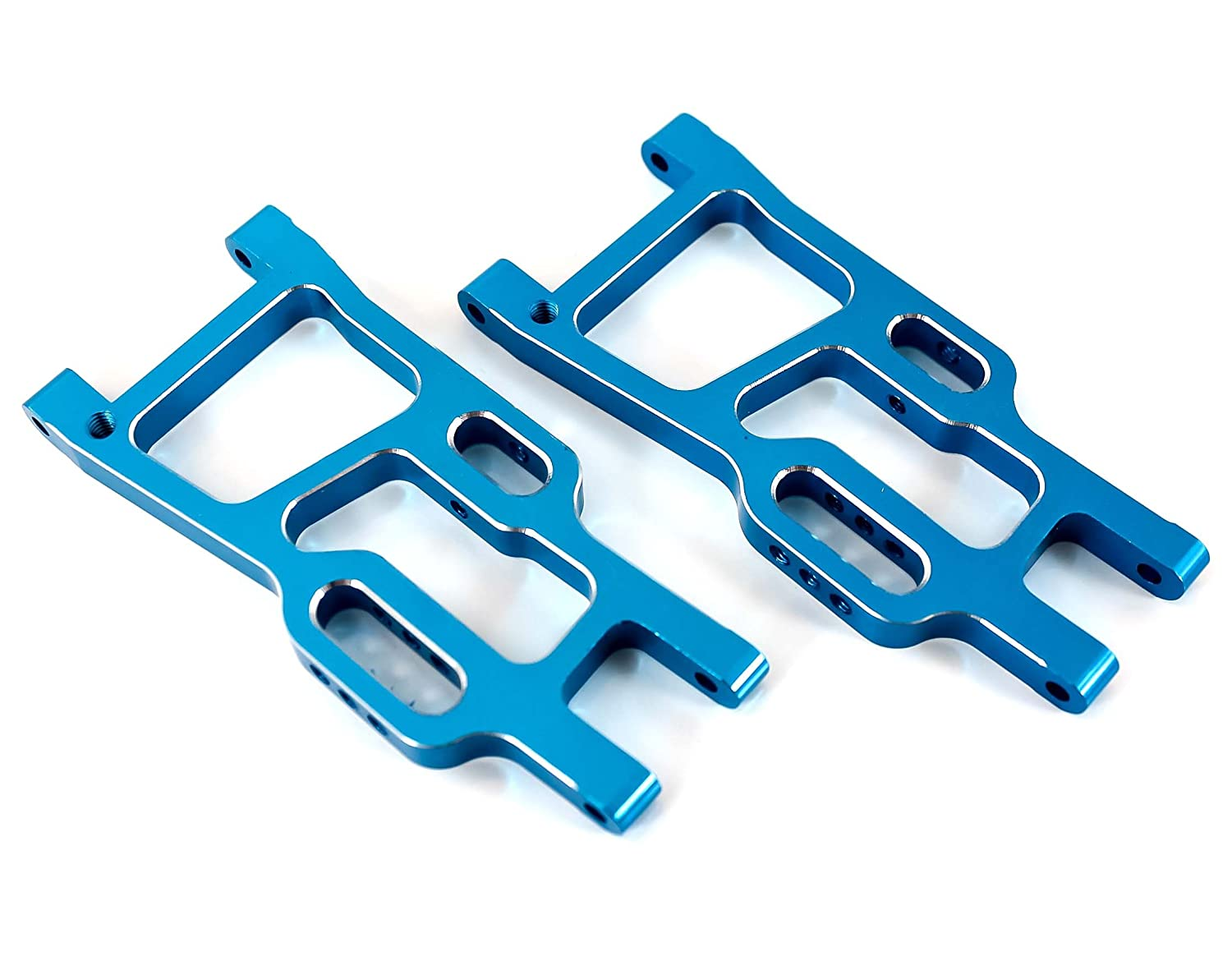 HSP 106021 Blue Aluminum Rear Lower Suspension Arms for Redcat Tornado EPX PRO