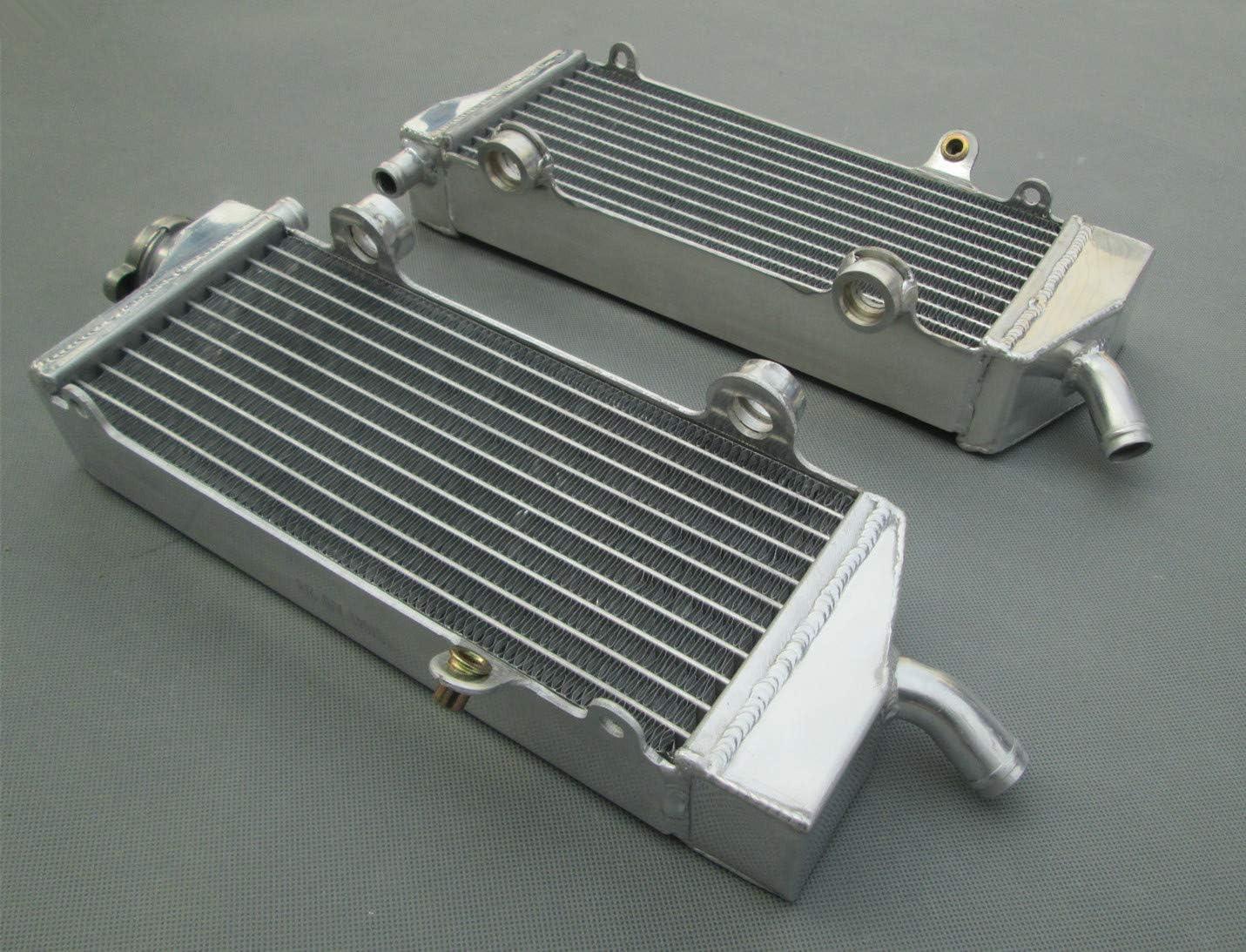 Aluminum radiator for KTM 250SXF 2007 2008 2009 2010 2011