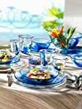 Bormioli Rocco Murano Cobalt Blue Dinner