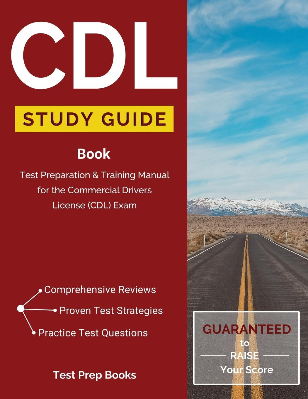 CDL Study Guide Book: Test Preparation & Training Manual for the Commercial  Drivers License (CDL) Exam: (Test Prep Books) Paperback – Jan 29 2016