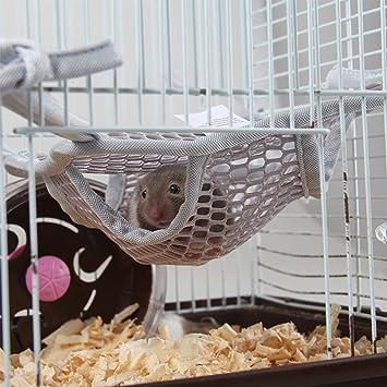 Hypeety Hamaca para cama de hámster diseño de animales pequeños, para colgar en la cama