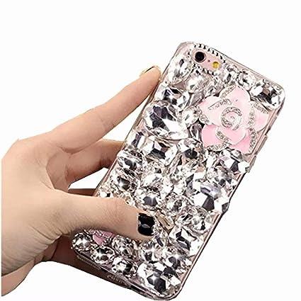 Amazon.com: Nokia 8 Sirocco Full Crystal Diamond Case, Nokia ...
