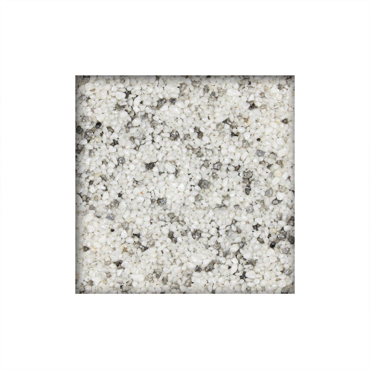 2,3 m/² direkt vom KiesK/önig/® Carnico Tence Marmorkies inkl 25 kg Steinteppich 1K Bindemittel 2-4 mm ausreichend f/ür ca