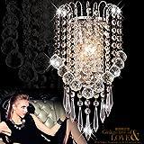 Jorunhe Modern K9 Crystal Wall Lights Sconce Chandelier Wall Lamp Aisle Fixtures