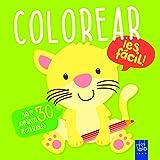Colorear ¡es fácil! Tigre: Más de 30 adhesivos reutilizables
